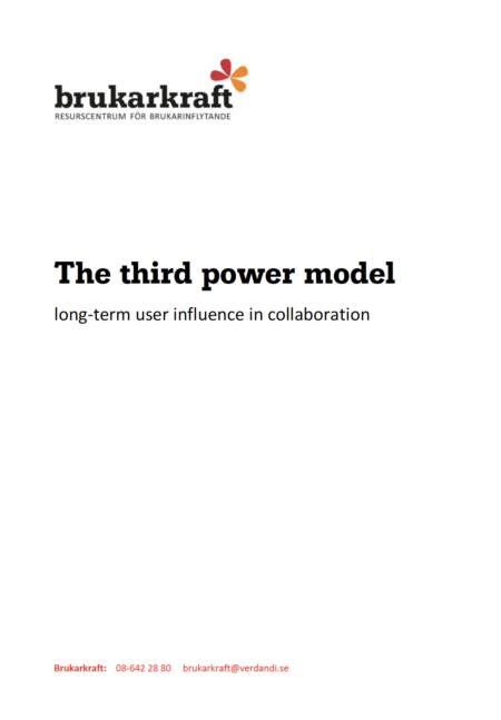 English manual Third Power Model